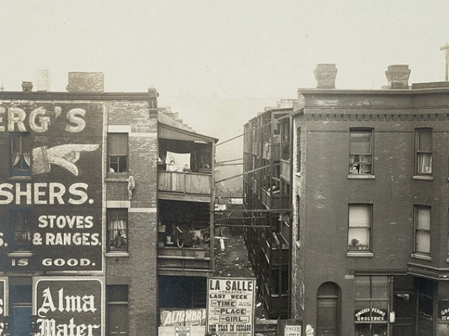 "<i>Social Settlements: United States. Illinois. Chicago. ""Francis E. Clark Settlement"": Francis E. Clark Settlement, Chicago. Ill.: In the Neighborhood,</i> c. 1908"