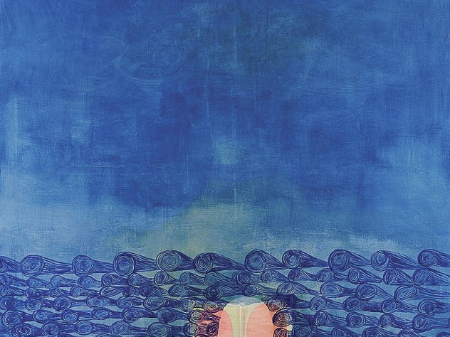 Amy Stillman&rsquo;s painting <i>Ocean 1 </i>(1997), Institute of Contemporary Art