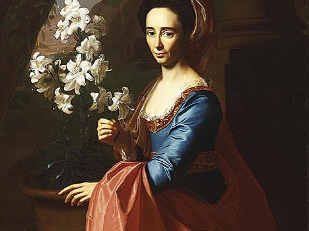 John Singleton Copley's <i>Portrait of Rebecca Boylston Gill (</i>ca. 1773), RISD Museum