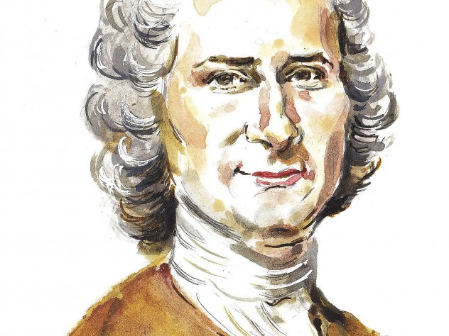 an analysis of jean jacques rousseaus view on property as a superior over the views of john locke Rousseau argued that no one person was entitled to have natural authority over others jean jacques rousseau: the social contract john locke, an english.