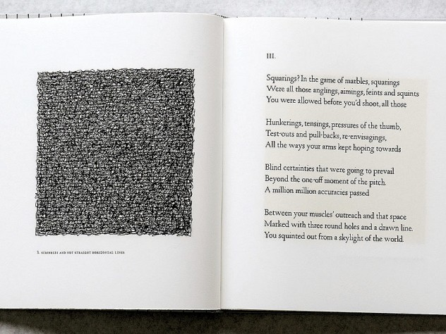 <i>Squarings</i> (2003),  a  collection of poems by Seamus Heaney, is illustrated with Sol LeWitt&rsquo;s self-described &ldquo;scribbles,&rdquo;.