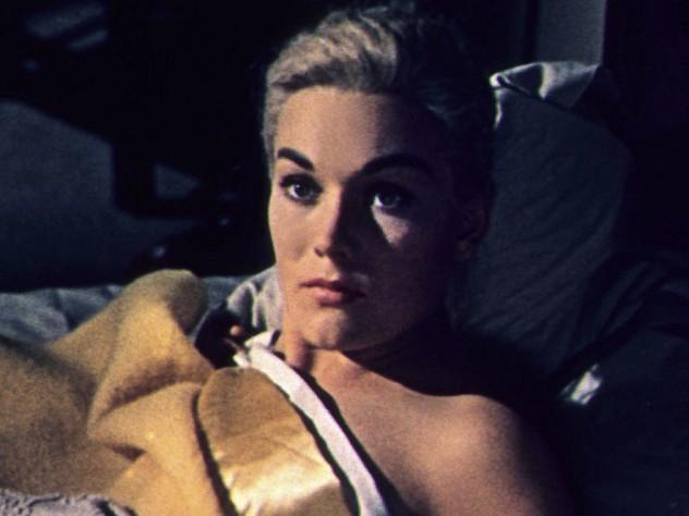 A still from <i>Vertigo, </i>at the Harvard Film Archive