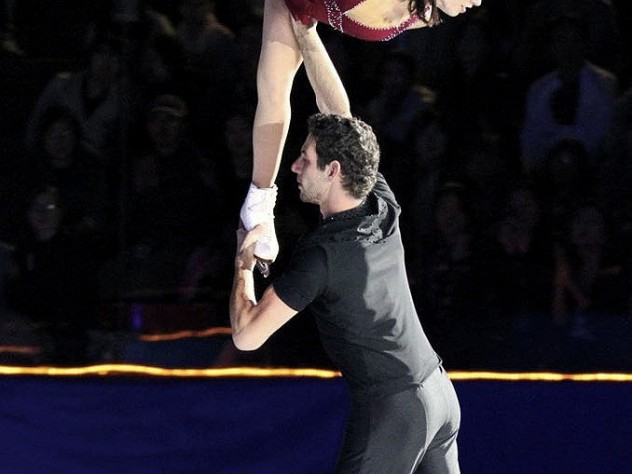 <i>An Evening with Champions</i> features&nbsp;renowned skaters such as Marissa Castelli and Simon Shnapir.