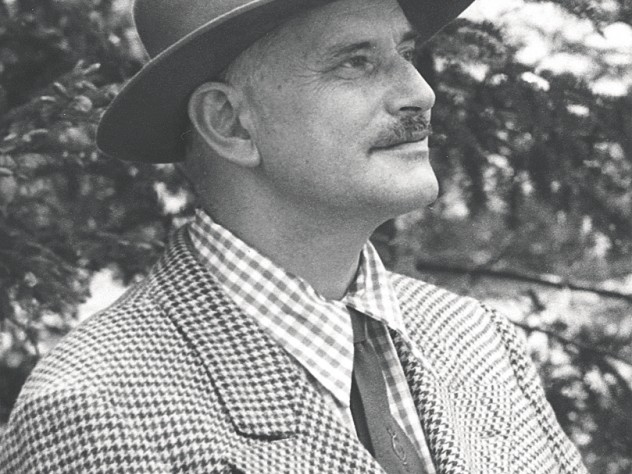 Beston in a photograph probably taken during his years in Maine