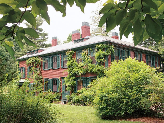 Olmsted's home in Brookline, Massachusetts
