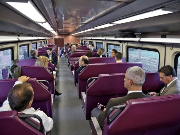 When researchers placed Spanish-speaking riders on a Boston-area commuter-rail train, xenophobic attitudes first increased, then decreased.
