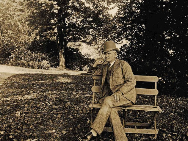 "Parkman circa 1890. His vocation and avocation, history and horticulture, both sprang from his passion for nature and ""the American forest."""