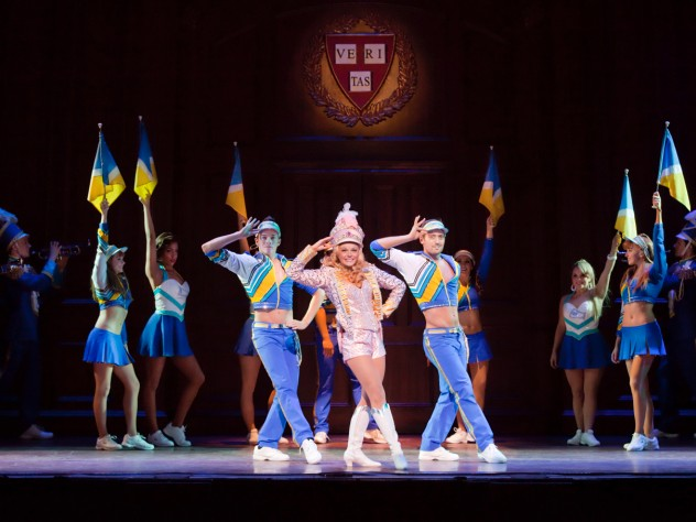 """The big production number """"What You Want,"""" from the London production of <i>Legally Blonde</i>"""