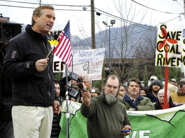 Lawyer Robert F. Kennedy Jr. '76 adds his voice to those speaking out against the mountaintop-removal of coal in Haney's film <i>The Last Mountain.</i>
