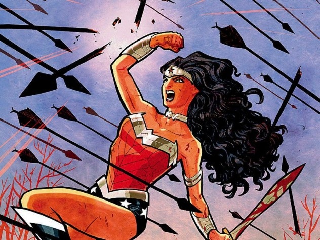 """Cover of """"Wonder Woman"""" by Cliff Chiang"""