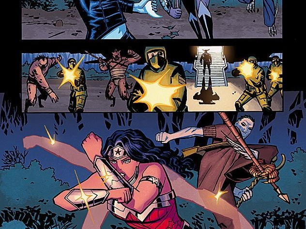 """Interior page from """"Wonder Woman"""" by Cliff Chiang"""