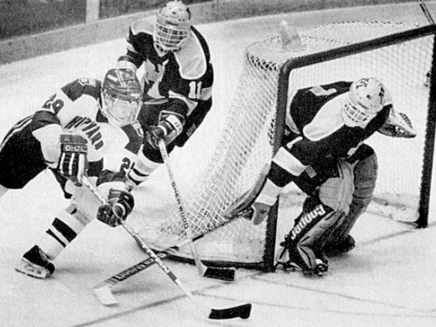 April 1, 1989—The men's hockey team captures an NCAA championship.
