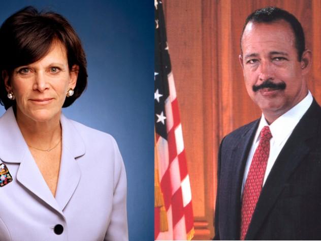 Jessica Tuchman Mathews and Theodore V. Wells Jr.