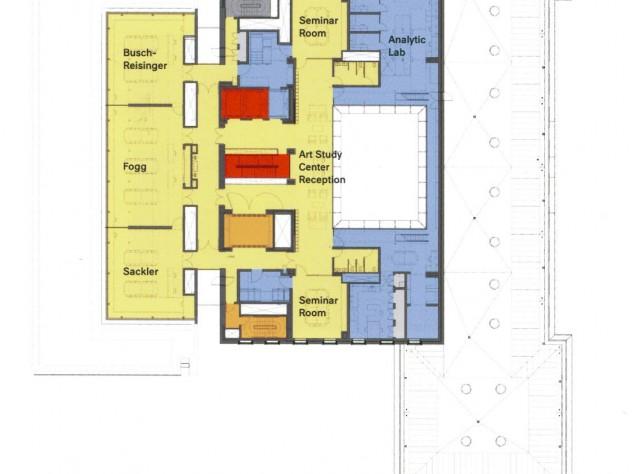"Level 4 - View <a href=""http://harvardmagazine.com/sites/default/files/img/article/0913/Level4sm.jpg"">larger floor plan</a>"