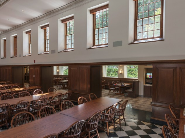 Winthrop dining hall