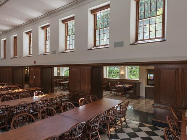 Winthrop dining hall