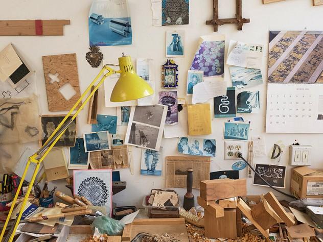 Jill Slosburg-Ackerman's Brickbottom studio.
