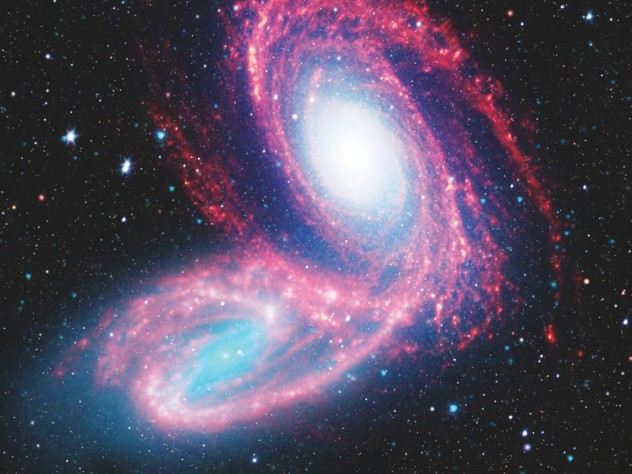 """From the """"Cosmic Train Wrecks"""" lecture at Harvard's Center for Astrophysics"""