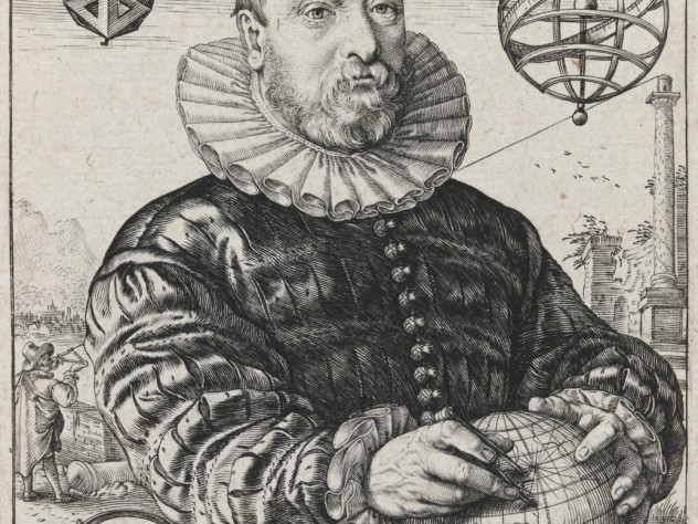 Hendrick Goltzius,<i> Portrait of Nicolaus Petri van Deventer,</i> 1595. Engraving.