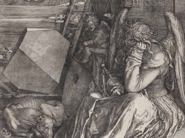 Albrecht Dürer, <i>Melencolia I,</i> 1514. Engraving.