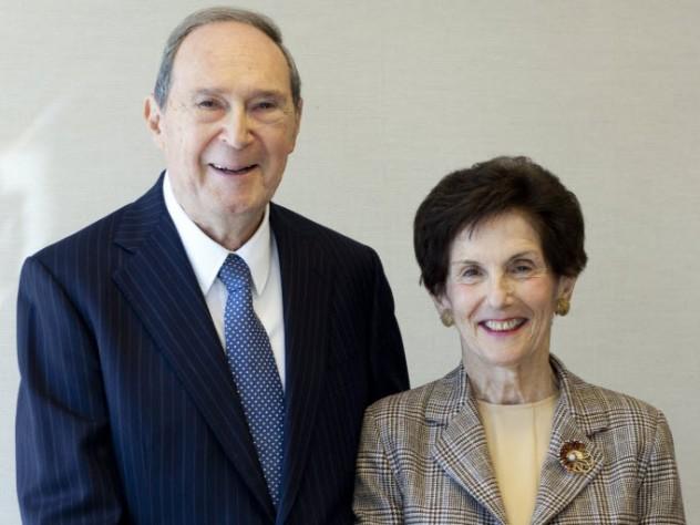 Gustave and Rita Hauser