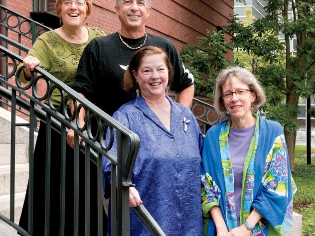 Top from left: Helen Snively, Tom Southwick, Carol Sternhell, and Deborah Johnson
