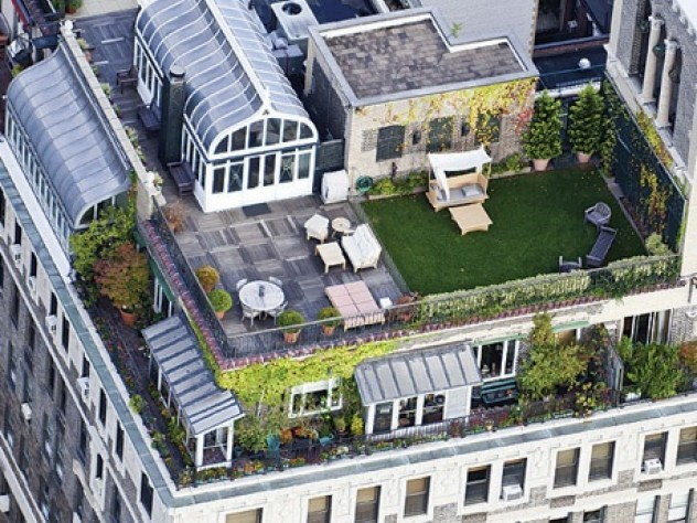 On high: The Alden, 225 Central Park West, in Manhattan, from <i>Up on the Roof</i>