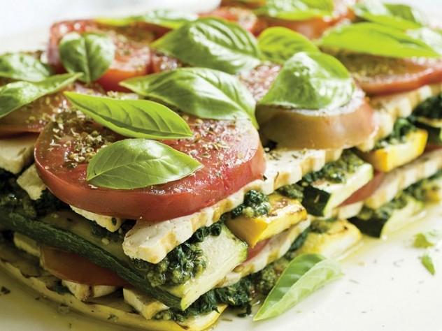 Presto Pesto No-Bake Lasagna
