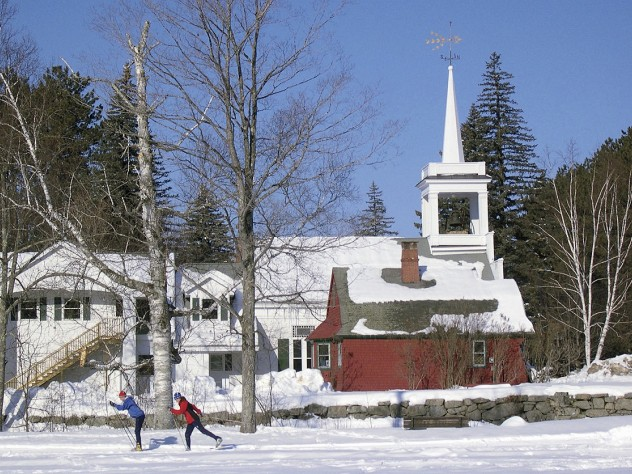 "Extensive interconnected trails in and around Jackson, New Hampshire, foster a European-style ""inn-to-inn"" experience."