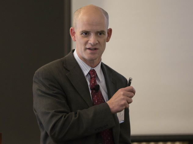 """Discovering Solutions"" panelist David Mooney"