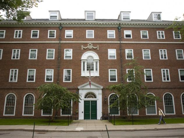 Winthrop House's Standish Hall