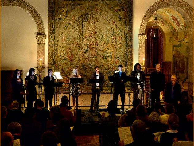 Grammy-winning vocal ensemble Roomful of Teeth performs at Dumbarton Oaks.