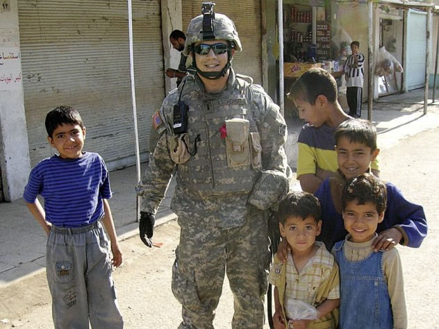 Versed in the Arabic language and culture, Aaron Scheinberg ran civil-affairs projects while deployed in Iraq.
