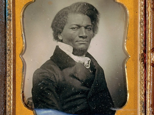 An iconic daguerreotype, by an unknown photographer, c. 1853, of Frederick Douglass, the abolitionist leader and America's most famous ex-slave