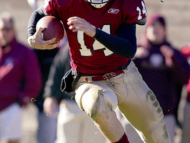 Quarterback Ryan Fitzpatrick blossomed under Murphy, then went on to a solid career in the NFL.