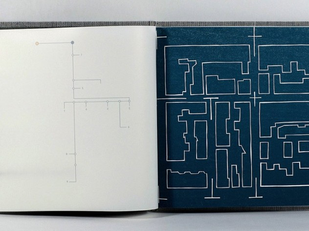 Image of interior pages of The Space of Poetics (2015)