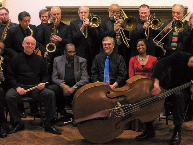 Members of the Aardvark Jazz Orchestra
