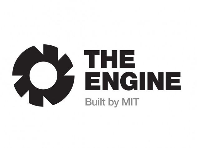 Logo of MIT's The Engine, a venture firm