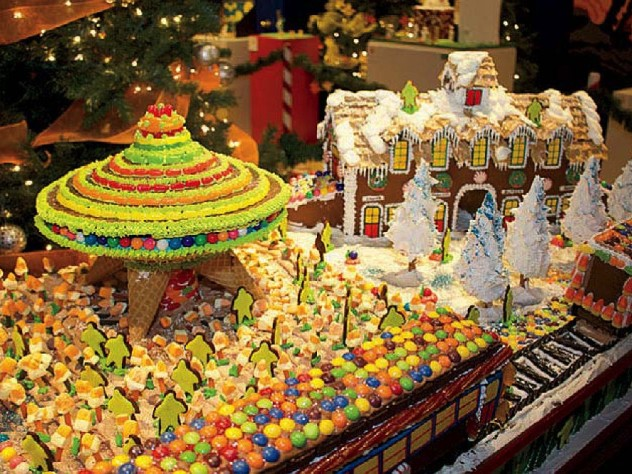 Enchanting gingerbread exhibit at Springfield Museums