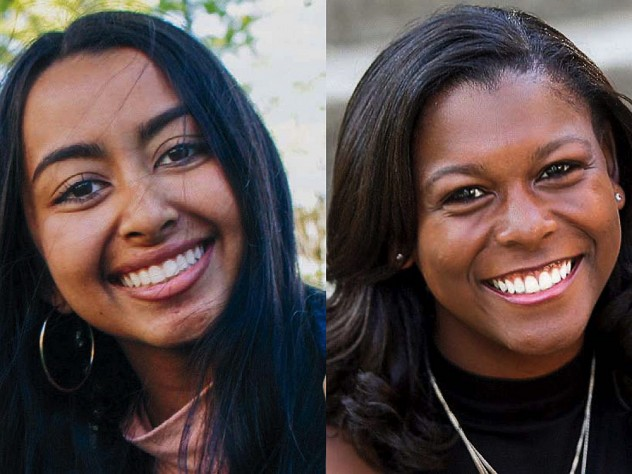 Head shots of smiling Aloian Scholars