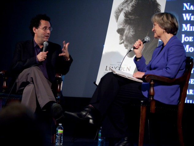 Civil War historian and Harvard president Drew Faust talks with Kushner about the film.
