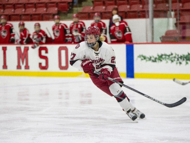 After at 20-point season last year, left wing Karly Heffernan '18 has a goal and seven assists in nine games this fall.