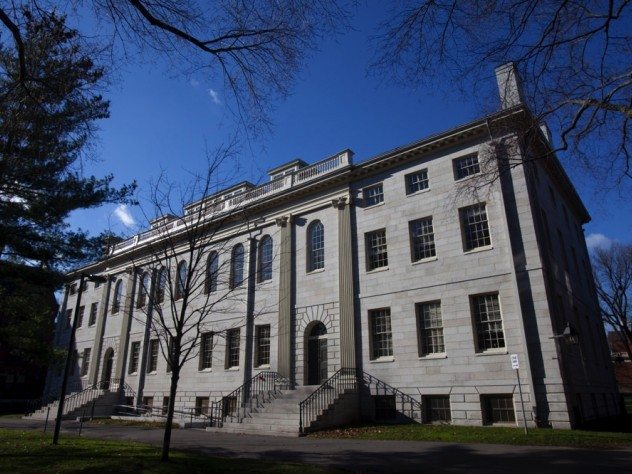 Photograph of University Hall, where the Faculty of Arts and Sciences meets
