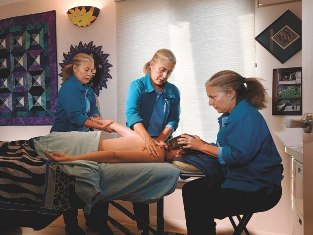 Massage is among the healing arts Cynthia Ann Piltch studied for a new career.