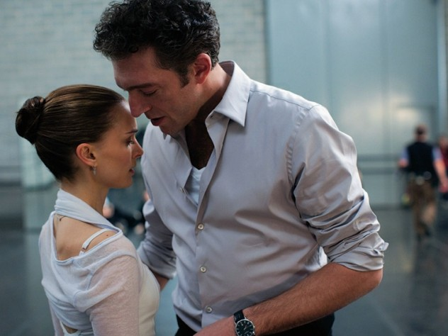 A scene with actor Vincent Cassel, who plays the company's artistic director