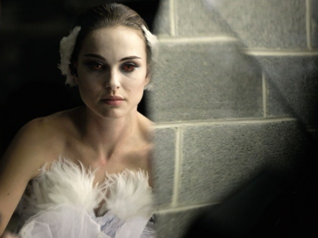 In <i>Black Swan</i>, Natalie Portman's character dances the role of the Swan Queen and her dark rival in <i>Swan Lake</i>. Here, Portman as the White Swan.