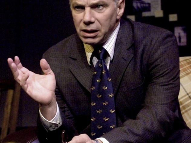 Epstein as David Hare in <i>Via Dolorosa</i> at the Berkshire Theatre Festival in 2006.