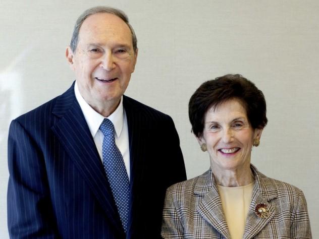 Gustave M. Hauser and Rita E. Hauser