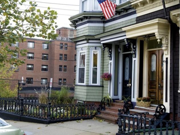 Views of Boston: Diverse housing…