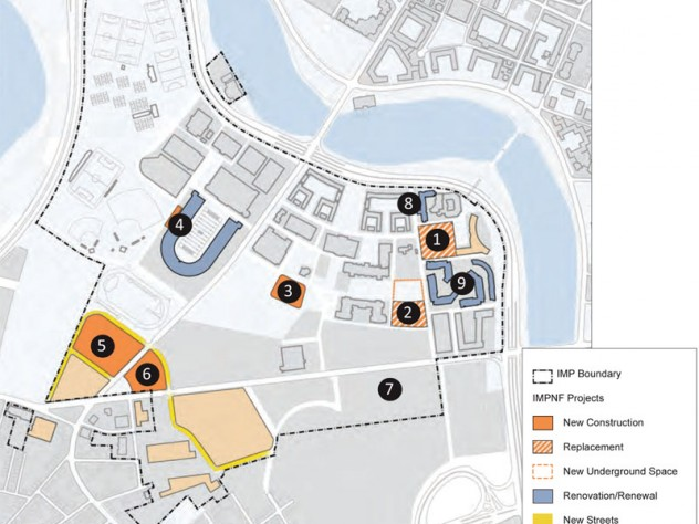 Boston Map Harvard.Allston Master Plan Submitted By Harvard In 2012 Marks End Of